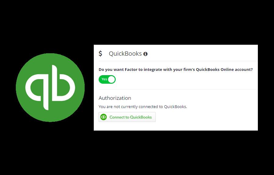 QuickBooks Integrates With Factor