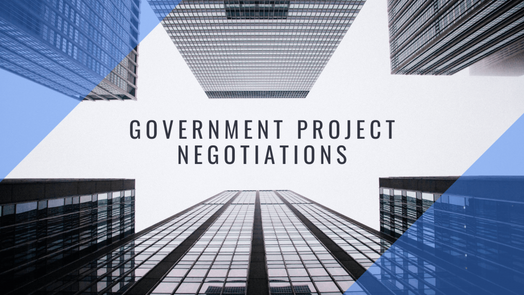 Factor AE Government Project Negotiations Blog